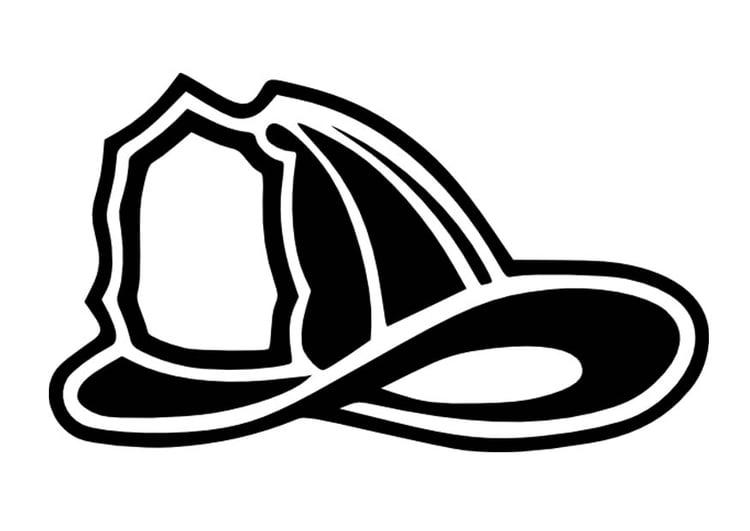 Dibujo para colorear Casco de bombero - Img 16656