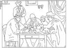 Dibujo para colorear Cezanne