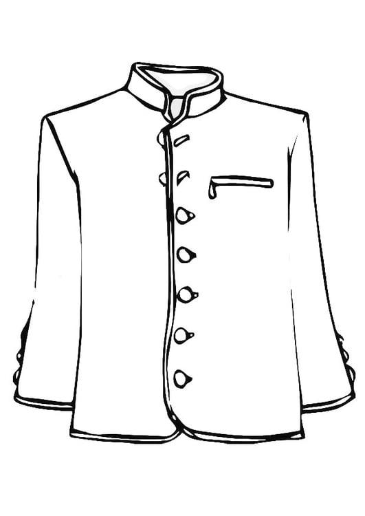 258ad6faaf7cc Dibujo para colorear chaqueta - Img 19341