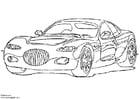 Dibujo para colorear Chrysler 300