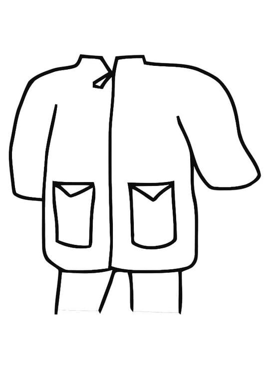 Dibujo Para Colorear Chubasquero