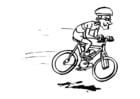 Dibujo para colorear Ciclismo