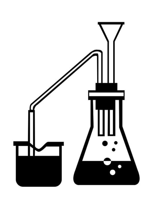 Dibujo para colorear ciencia - Img 29907