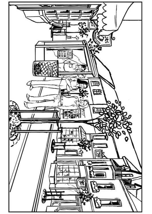 Volwassenen Y Kleurplaten Dibujo Para Colorear Ciudad Img 7536