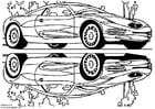 Dibujo para colorear Coche de exhibición Chrysler