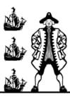 Dibujo para colorear Colón