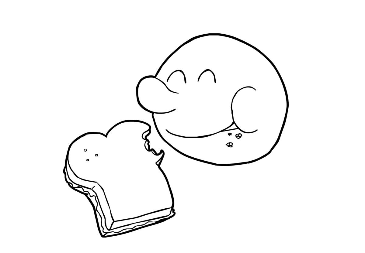 Dibujo para colorear Comer - Img 14841