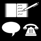 Dibujo para colorear Comunicación