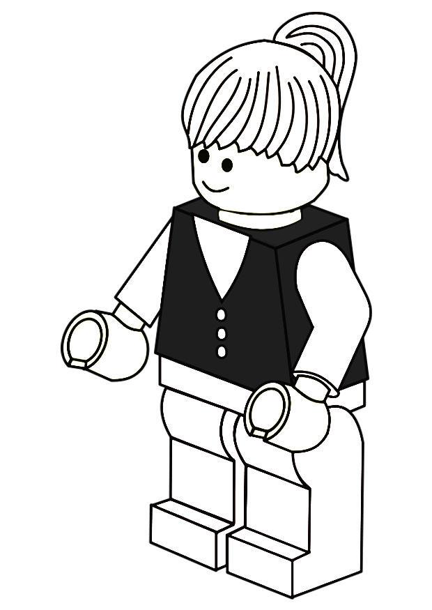 Único Flecha Verde Lego Para Colorear Colección de Imágenes ...