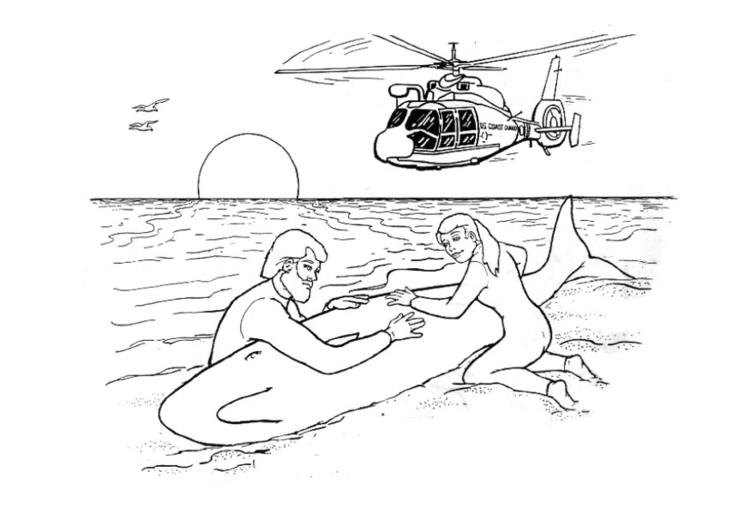 Dibujo para colorear Contaminación - consecuencias - Img 14388