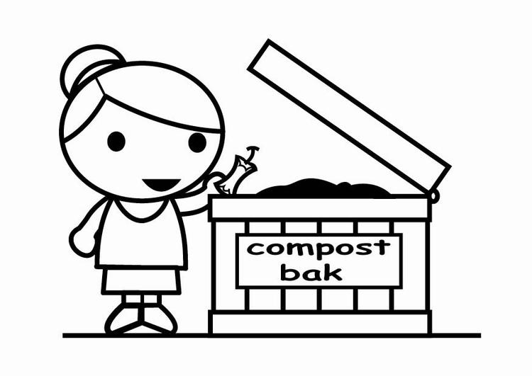 Dibujo Para Colorear Convertir En Compost Img 23954 Images