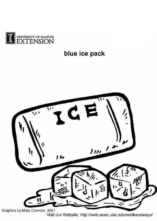 cubo de hielo para hielera