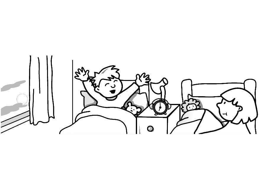 Dibujo Para Colorear Despertar Img 7312 Images