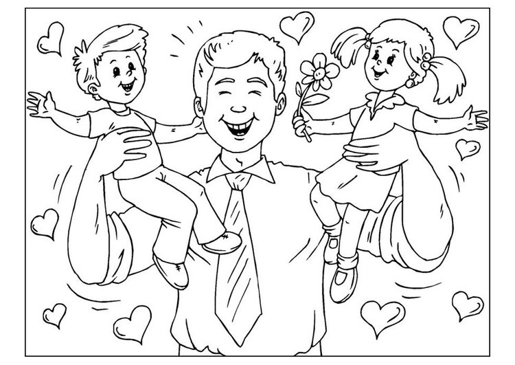 Dibujo Para Colorear Dãa Del Padre Img 25776 Images