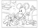 día del padre - ratones