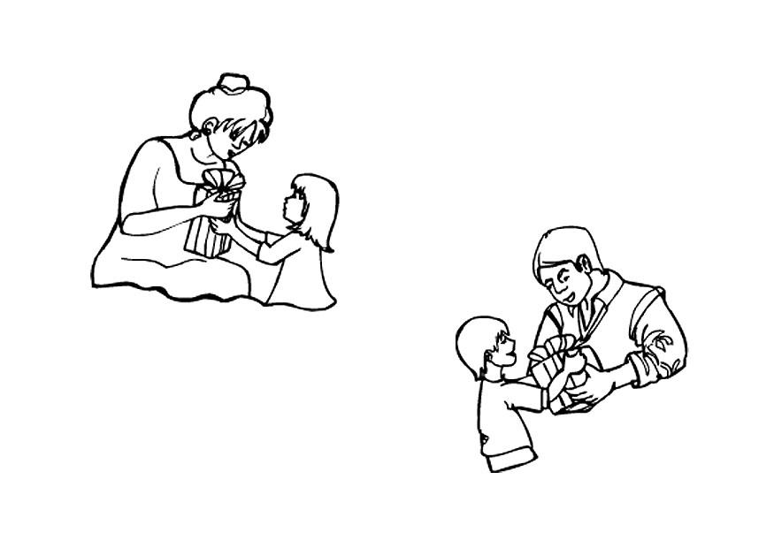 Dibujo Para Colorear Dãa Del Padre Y Dãa De La Madre Img 9672 Images