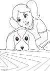 Dibujo para colorear Día mundial de los animales
