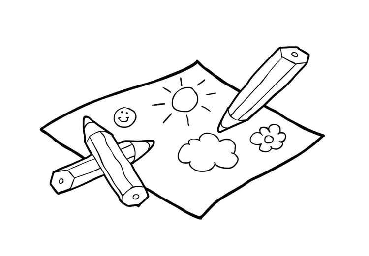 Dibujo para colorear dibujar img 14865 for Papel para dibujar