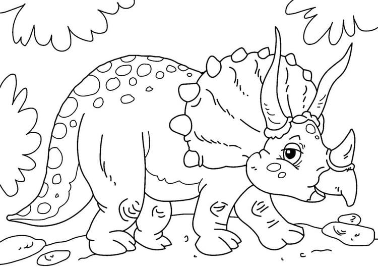 Dibujo Para Colorear Dinosaurio