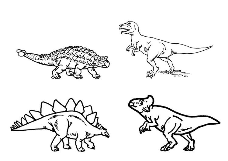 Dibujo Para Colorear Dinosaurios Img 9101 Images