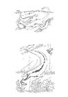 Dibujo para colorear Dinosaurios marinos