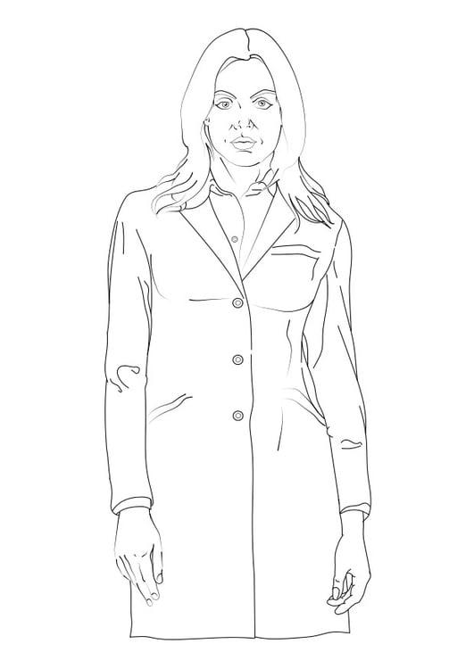 Dibujo Para Colorear Doctor Dibujos Para Imprimir Gratis