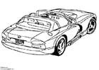 Dibujo para colorear Dodge Viper