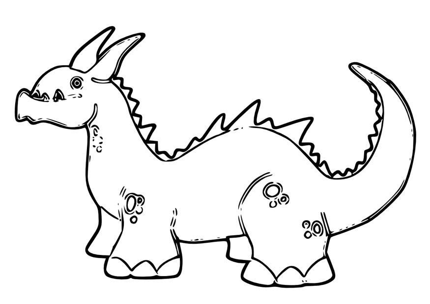 Mandalas De Dragones Para Colorear Descargar Imprimir Y: Dibujo Para Colorear Dragón