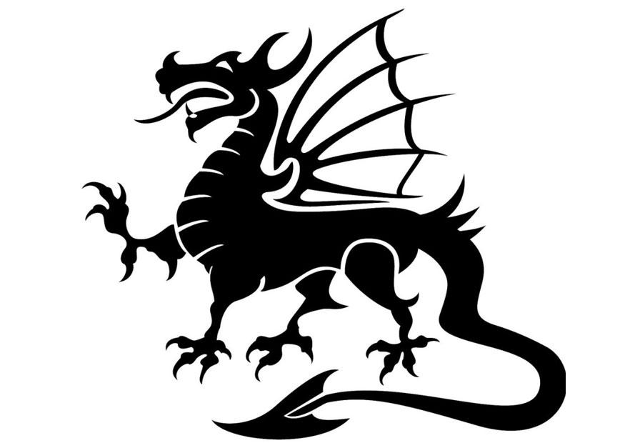 Dibujo Para Colorear Dragon Img 24678