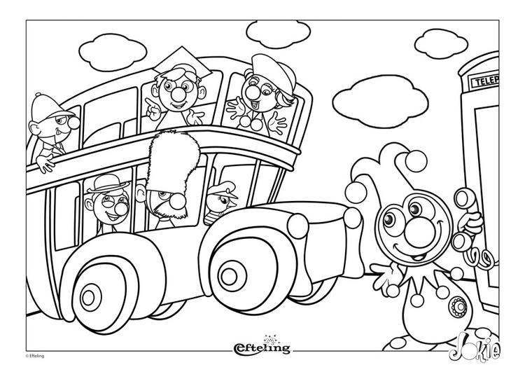 Dibujo para colorear Efteling - Gran Bretaña - Img 28659