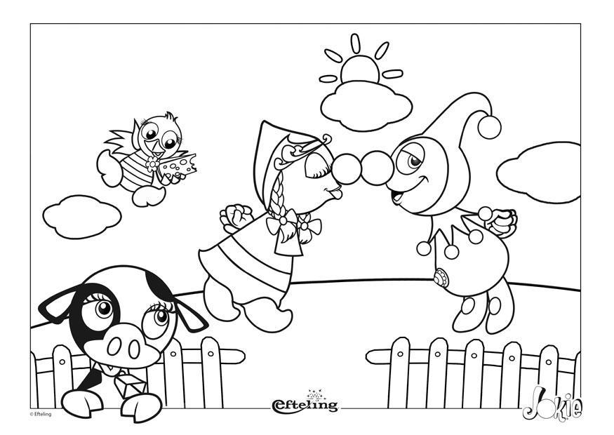 Efteling Kleurplaat Pardoes Dibujo Para Colorear Efteling Pa 237 Ses Bajos Img 28629