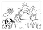 Dibujo para colorear Efteling - Países Bajos