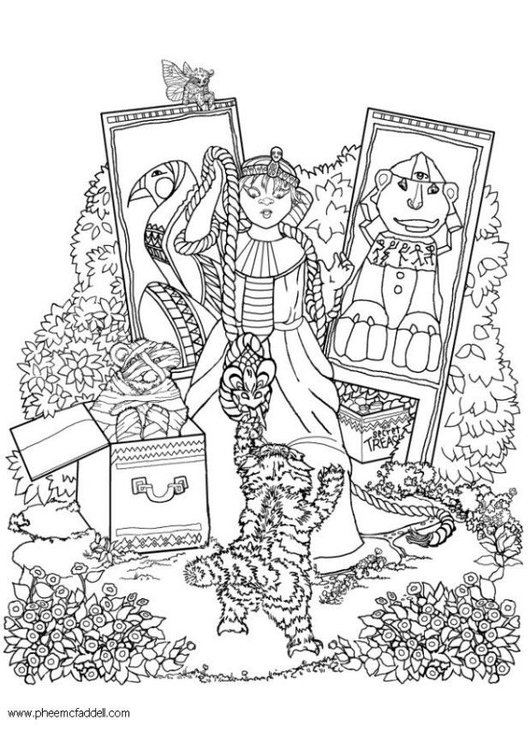 Egiption Adult Coloring Pages