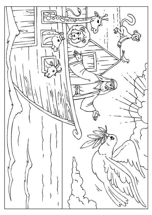 Dibujo Para Colorear El Arca De Noã Img 25999 Images