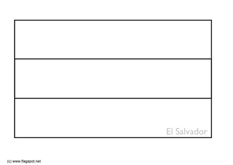 Dibujo Para Colorear El Salvador Img 6351