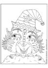 Dibujo para colorear Elfo