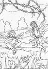 Dibujo para colorear Elfos