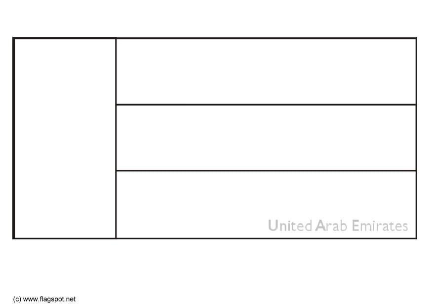 Dibujo para colorear Emiratos árabes unidos - Img 6315