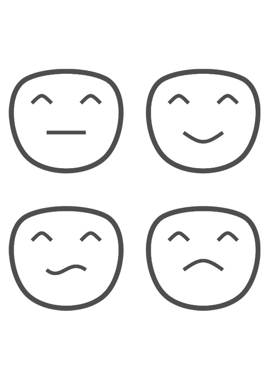 Dibujo Para Colorear Emociones Img 29330
