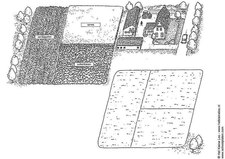Dibujo para colorear Empresa agrícola - Img 8288
