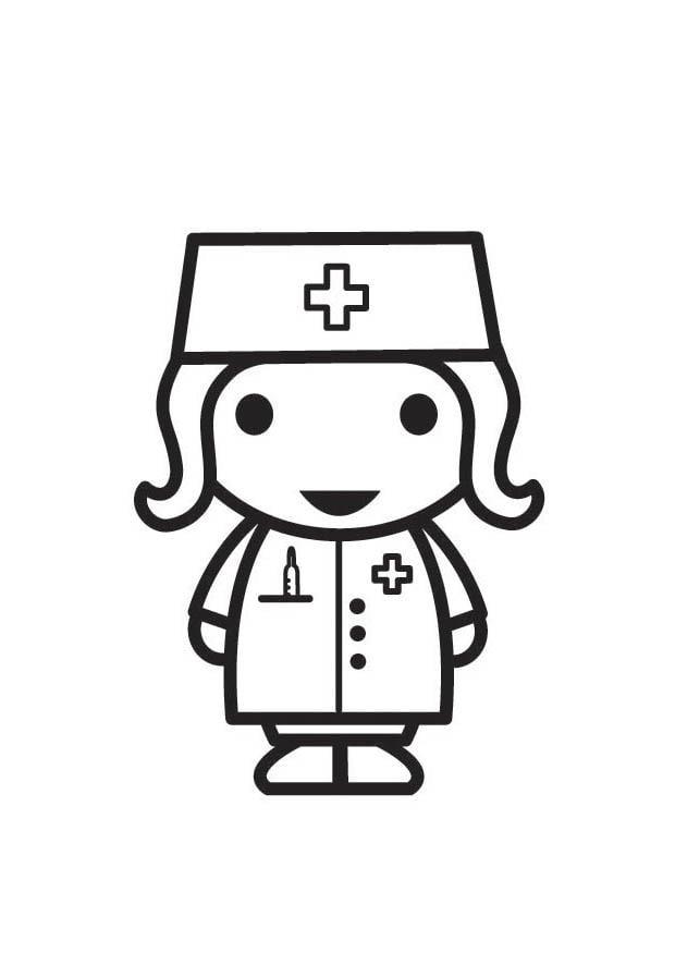 Fantástico Hola Enfermera Kitty Para Colorear Fotos - Páginas Para ...