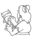 Dibujo para colorear Enfermera