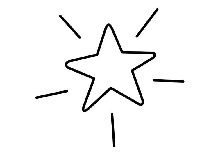 Dibujo Para Colorear Estrella Img 22742