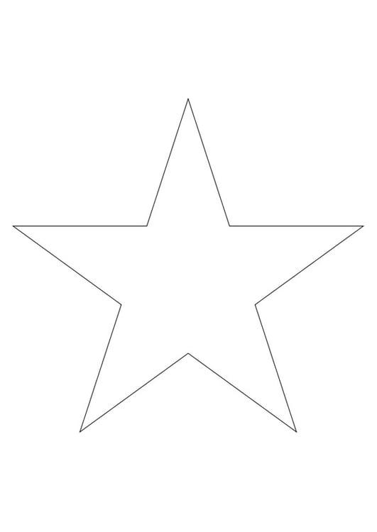 dibujo para colorear estrella dibujos para imprimir gratis