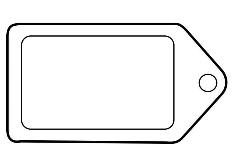 dibujo para colorear etiqueta img 22469. Black Bedroom Furniture Sets. Home Design Ideas