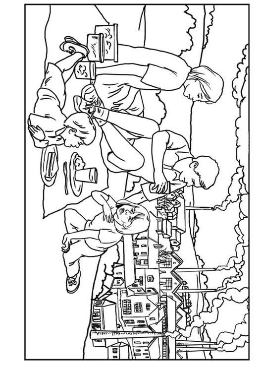 Dibujo Para Colorear Fãbricas Contaminaciã³n Del Aire Img 7640