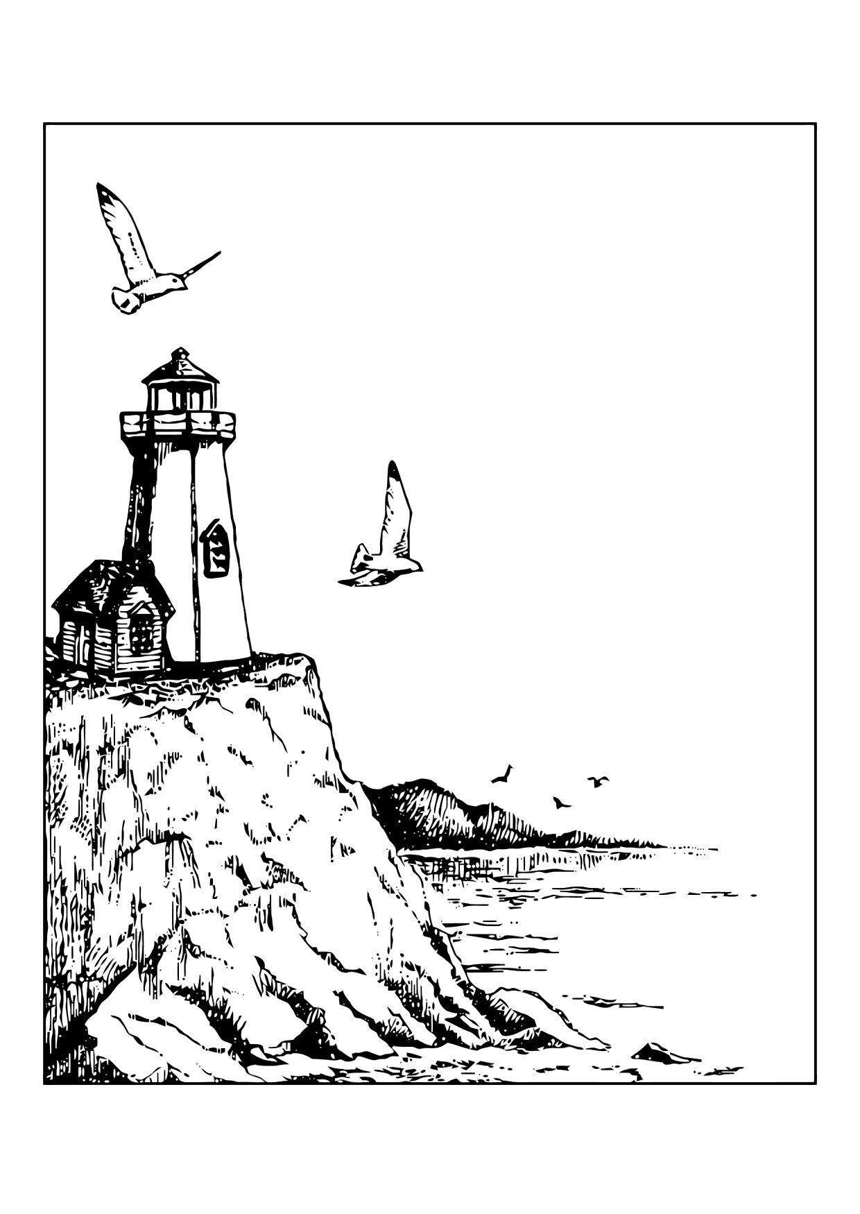 Dibujo Para Colorear Faro Img 11868