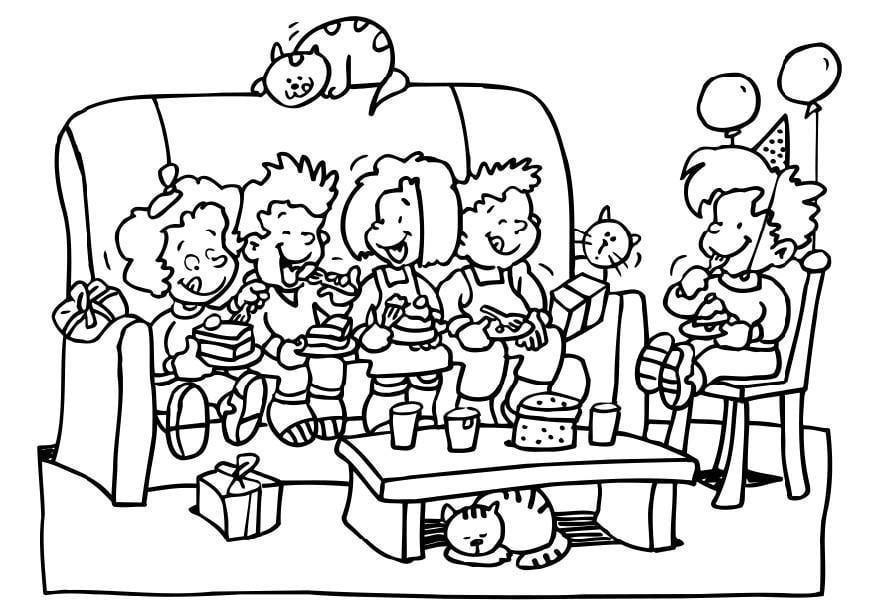 Dibujo para colorear fiesta de cumplea os img 6495 for Disegni di casa a buon mercato