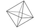 Dibujo para colorear figura geométrica