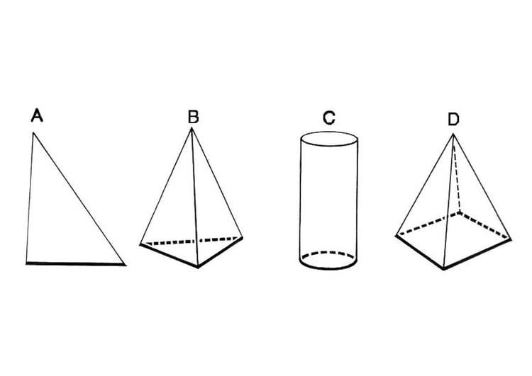 Dibujo para colorear figuras geométricas - base - Img 18743